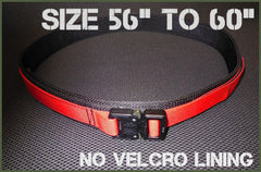 "Gray Base EDC Belt Without Velcro Lining - Size 56"" to 60"""