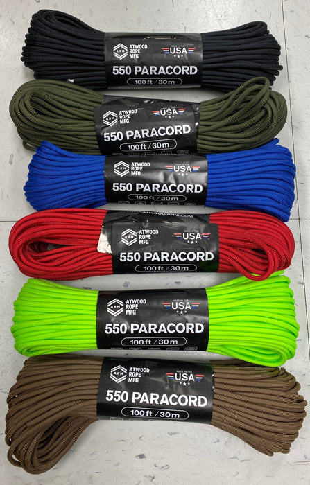 550 Paracord 100 Foot section