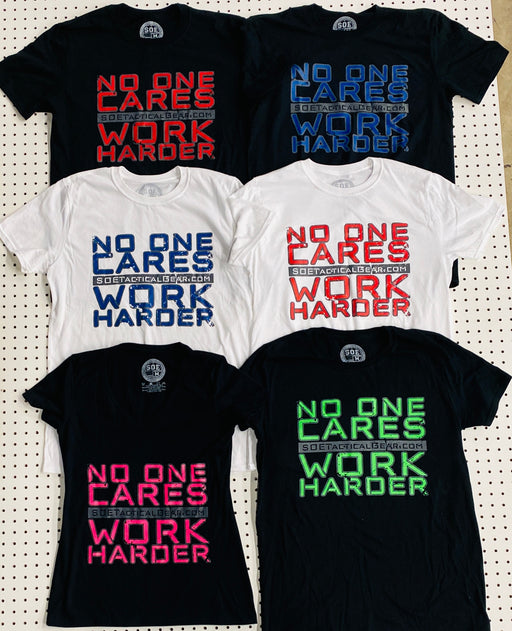 SOE No One Cares T Shirt