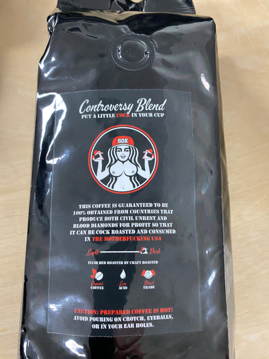 Controversy Blend whole Bean Coffee