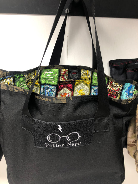 Harry Potter Lined Grocery Bag