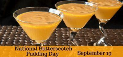 Butterscotch Pudding Day Mystery Order