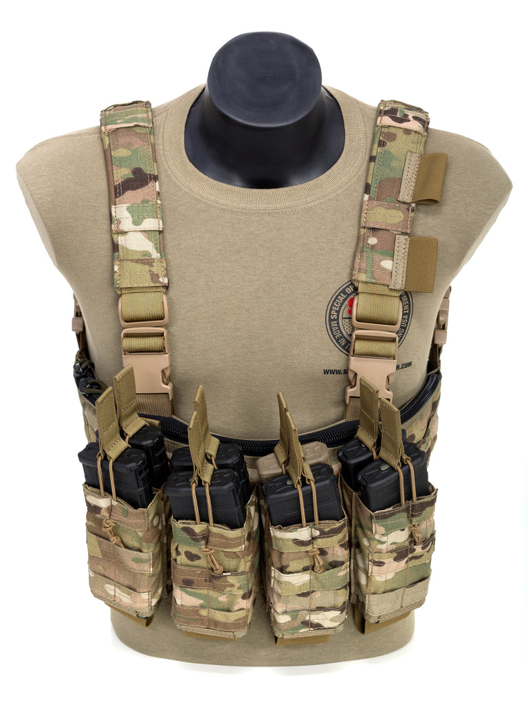 8 Mag Stacked Chest Rig Special Operations Equipment