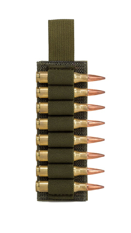 Rifle Ammo velcro backed card