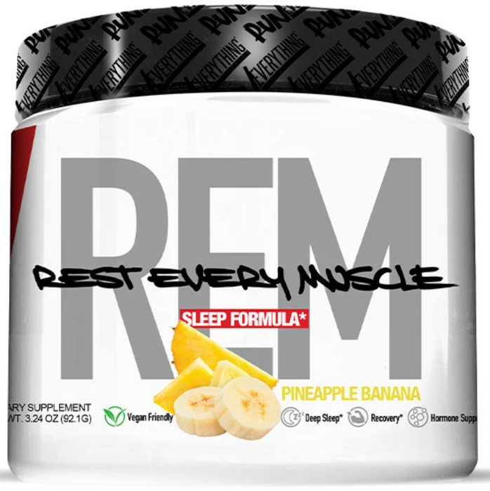 REM POWDER | REST EVERY MUSCLE | SLEEP FORMULA
