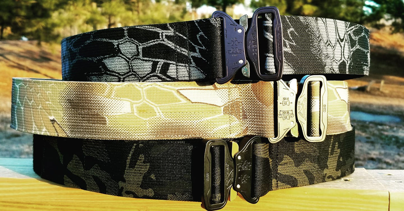 "2"" CAMO Cobra Duty Belt"