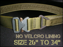 "1.75"" Cobra Rigger's Belt Without Velcro Lining - Size 26"" to 34"""