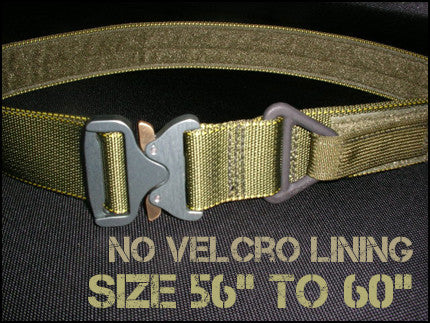 "1.75"" Cobra Rigger's Belt Without Velcro Lining - Size 56"" to 60"""