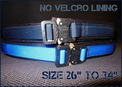 "EDC Belt Without Velcro Lining - Blue Line Collection - Size 26"" to 34"""