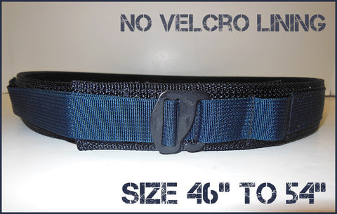 "EDC Low Profile Belt Without Velcro Lining - Blue Line Collection - Size 46"" to 54"""
