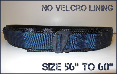 "EDC Low Profile Belt Without Velcro Lining - Blue Line Collection - Size 56"" to 60"""