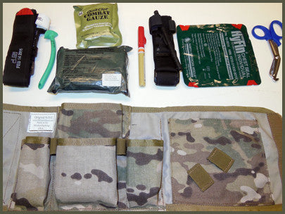 LPAK: Low Profile Aid Kit