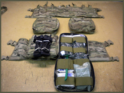 Medical Chest Rig Pouch