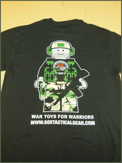 f1bb414f8 Old School O.S.O.E. LEGO Guy Shirt — Special Operations Equipment