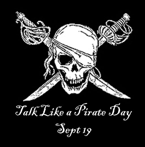 Talk Like A Pirate Day Mystery Order