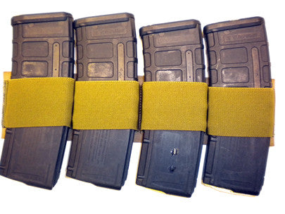 Velcro Backed Rifle Mag Card