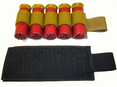 Velcro Backed 12GA Shotgun Card