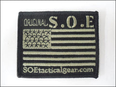 Original S.O.E Square Flag Patch