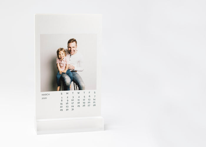 Photo Calendar with Stand