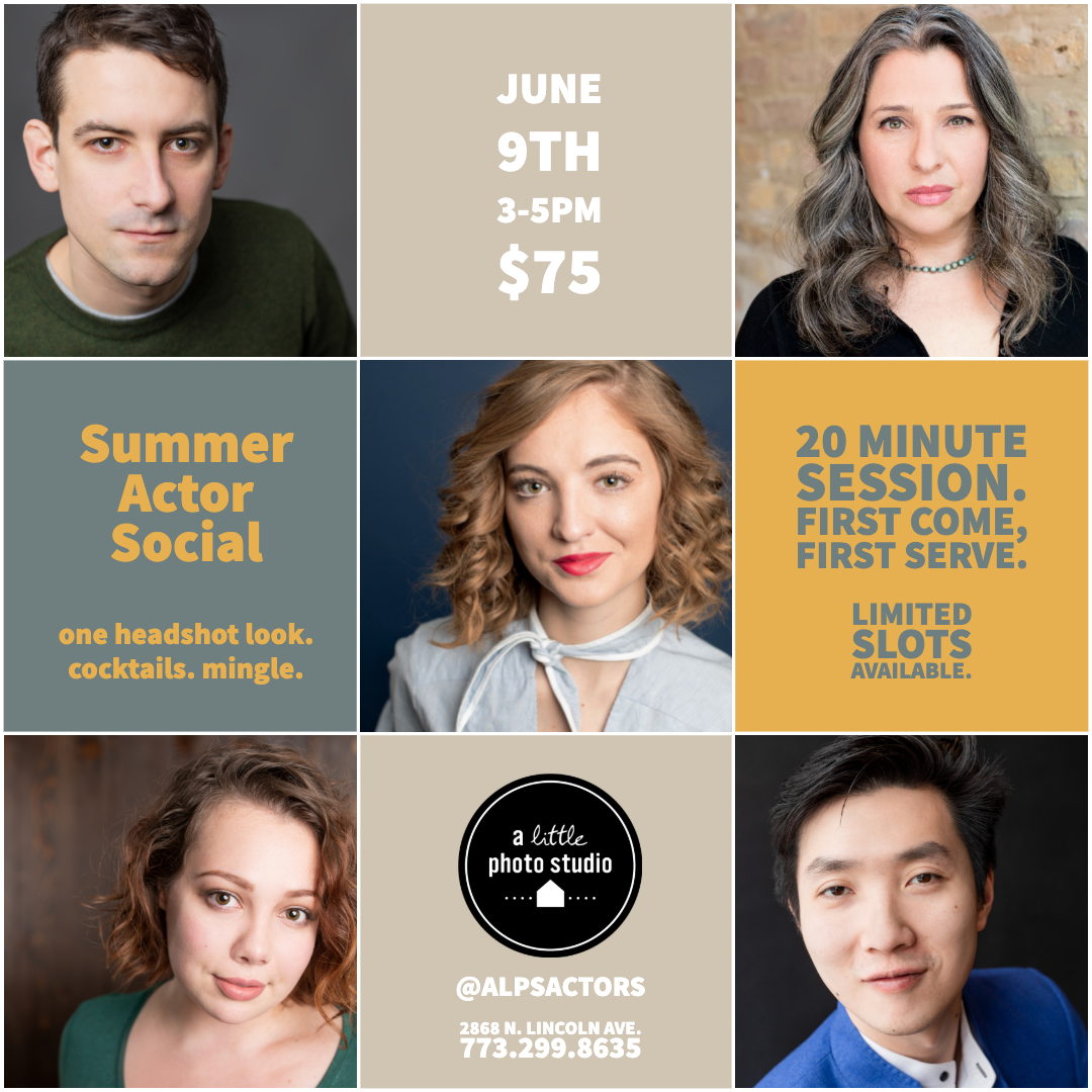 Actor Social | Sunday, June 9th 3pm-5pm | Last One of the Year!