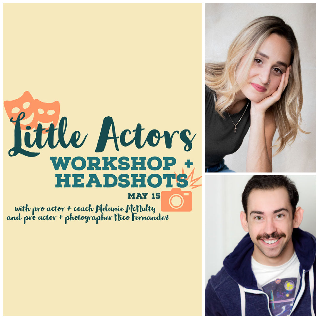 ALPS Little Actors Workshop 8-12 years old. May 15, 1pm-4pm