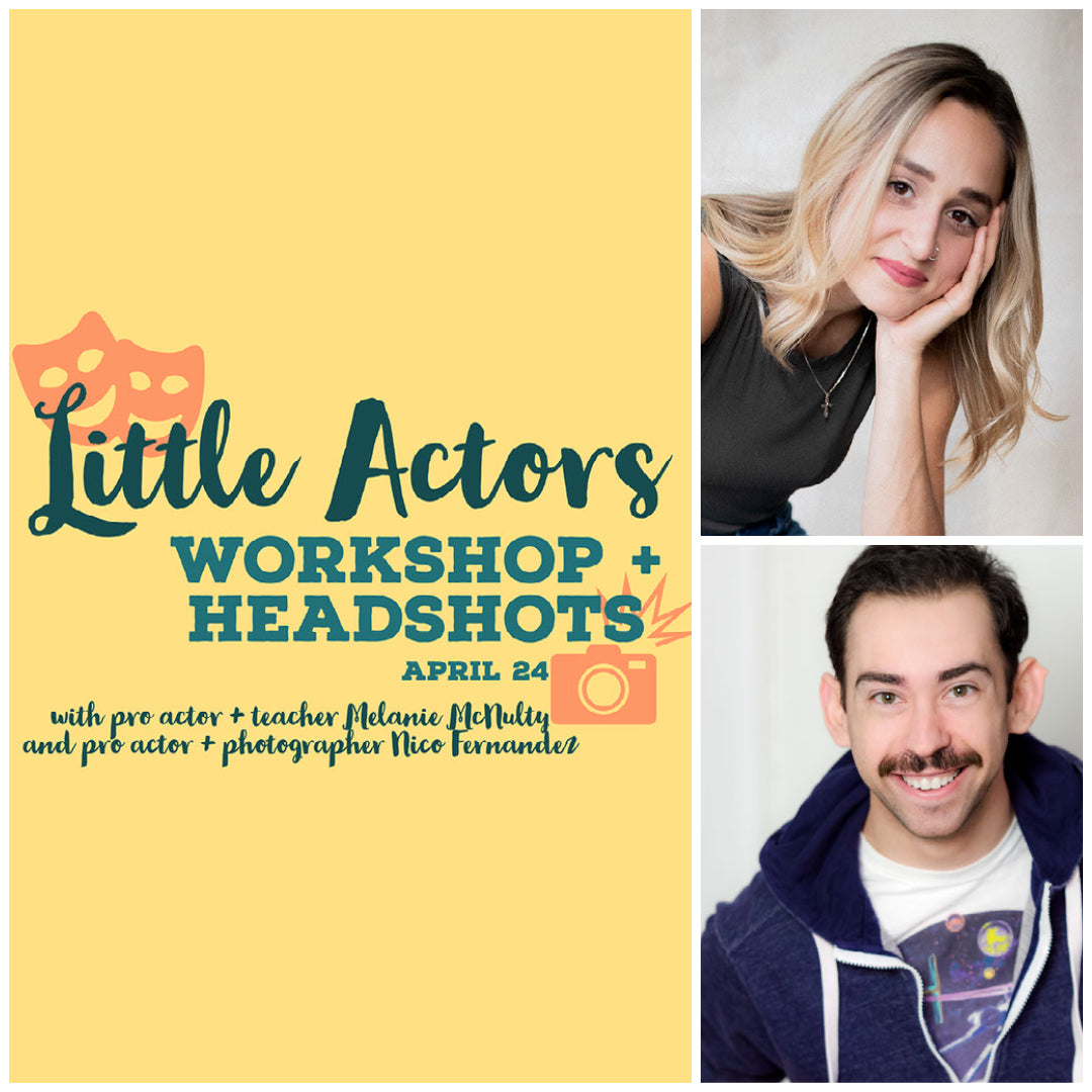 ALPS Little Actors Workshop 5-7 years old. April 24, 9am-12pm