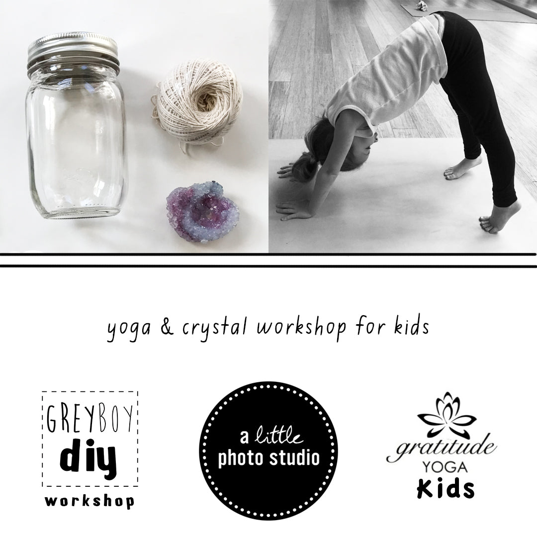 Yoga & Crystal-Making Workshop| June 7 4:00-6:00 PM