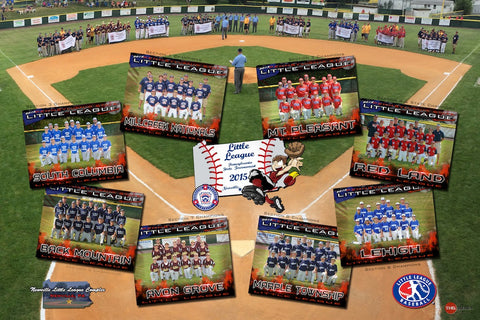 2015 PA State LL Tournament Poster (20x30)
