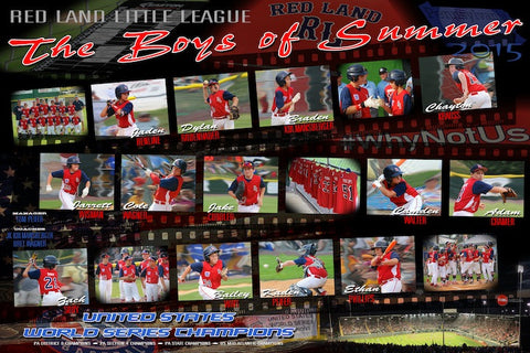 2015 Red Land LL Poster (20x30)