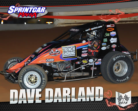 Dave Darland - 16x20 Poster Print