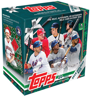 Everything you need to know about the 2019 Topps Walmart Holiday Mega Box and Variations guide!
