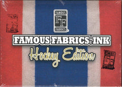 2010/11 Famous Fabrics Ink Hockey Edition ($5.75 per last name letter) 19 total spots ID FFINKHOCK208
