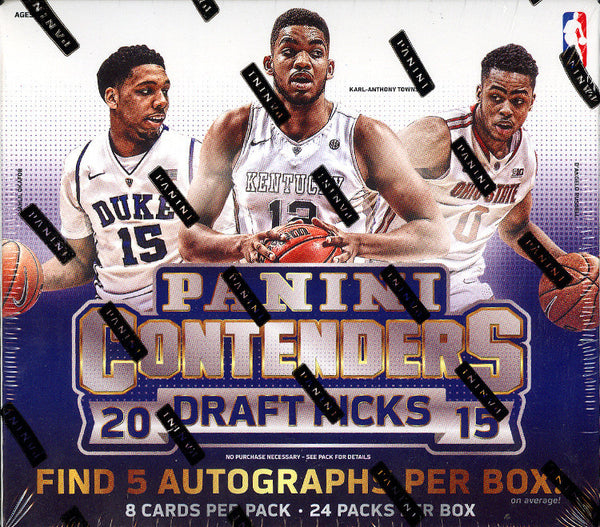 EVERYONE GETS A PACK 2015:16 Panini Contenders Draft Pick ID CONTDRAFT202