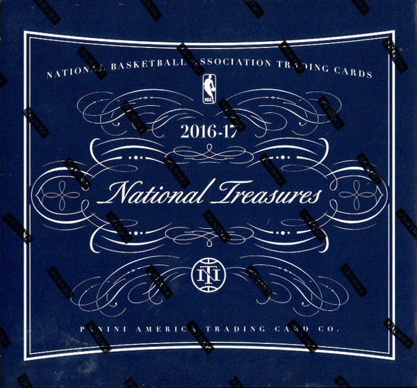 2016/17 Panini National Treasures Basketball Hobby Box ID 16NTBKBPYTUP201