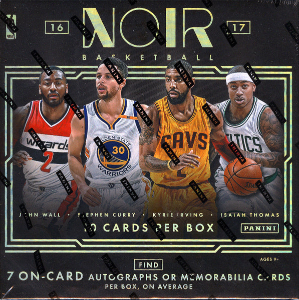 2016/17 Panini Noir Basketball Hobby Box ($15.99 PER TEAM, ALL TEAMS IN)  ID NOIRAUG101
