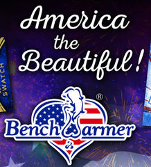 FEB 28 RELEASE: 2016 Benchwarmer America The Beautiful ($8.50 per last name letter, 19 total spots) ID BENCHBEAUTIFUL102