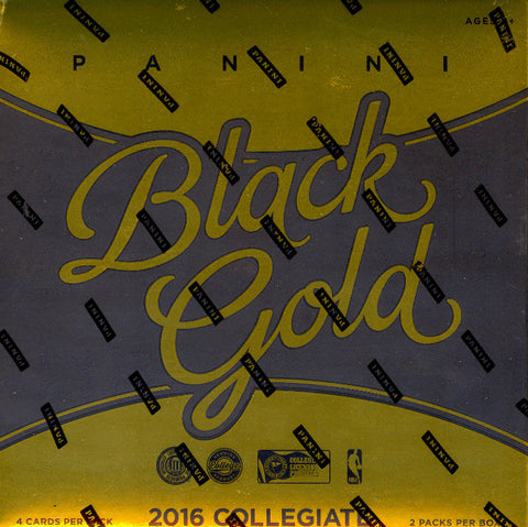 2016/17 Panini Black Gold College Basketball ($7.99 Per Last Name Letter, 19 total spots) ID COLLEGEBSK206