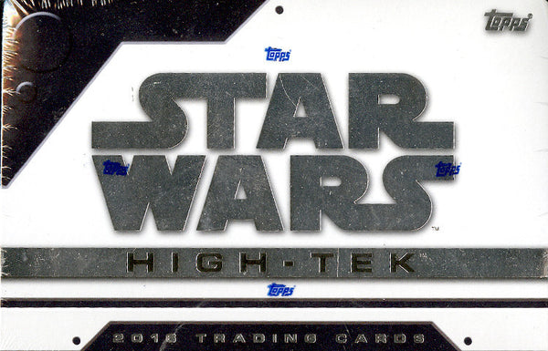 2016 Topps Star Wars High Tek ($5.25 per 3 checklist characters, 22 spots, 66 checklist characters) ID SWHIGHTEKJAN102