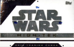 2016 Topps Star Wars High Tek ($5.50 per 3 checklist characters, 22 spots, 66 checklist characters) ID 16SWHIGHTEKJULY103