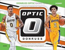 2017/18 Donruss Optic Basketball Hobby Box Random Team (6.25 Per Team ALL CARDS SHIP) ID 18OPTICNBART101