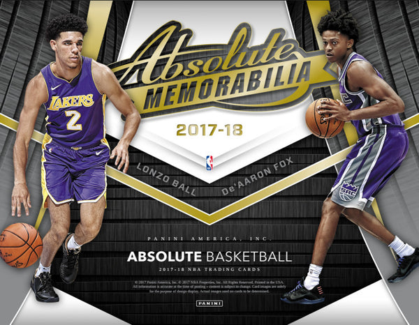 Coming Soon: PICK YOUR TEAM: 2017/18 Panini Absolute Basketball ID 1718ABSBSKTBLL253