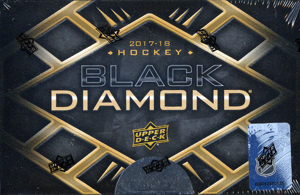 2017/18 Upper Deck Black Diamond Hockey ($8.99 PER TEAM, all teams in) ID 1718BLACKDHOCK105