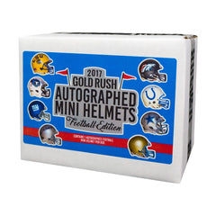 2017 Gold Rush Autographed Mini Helmets Football ($5.99 PER LAST NAME LETTER) 22 TOTAL SPOTS, NO Q, V, X, Z) ID GRMH107