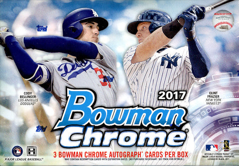 Tomorrow: 2017 Bowman Chrome Baseball HTA choice ID 17BOWCHRHTA127