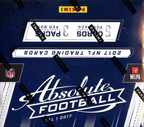 PICK YOUR TEAM: 2017 Panini Absolute Football Hobby Box ID 17AFBPYT106