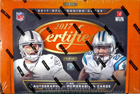 PICK YOUR TEAM: 2017 Panini Certified Football ID 17CERTPANINI135