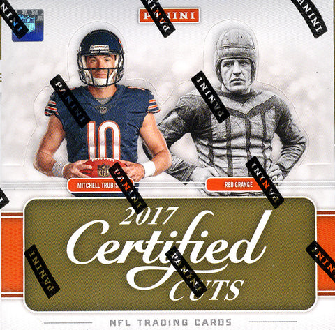 2017 Panini Donruss Certified Cuts Football ALL CARDS SHIP ($6.25 per team, all teams in) ID CERTCUTS106