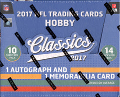 NO BRAINER: 2017 Panini Classics Football ($2.50 PER TEAM, ALL TEAMS IN) ID NOBRAINER102