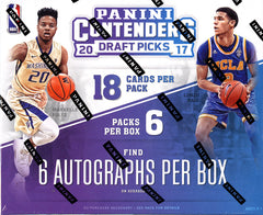 INSTANT PACK RIP: 2017 Panini Contenders Draft Basketball, 6 AUTOS PER BOX, 6 TOTAL PACKS ($35.99 PER PACK) ID 17CONDRAFTPR551