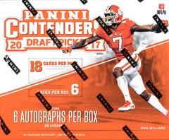 PACK DESIGNATION BREAK: 2017 Panini Contenders Draft Picks Football EVERY PACK HAS AN AUTOGRAPH ($27.50 per pack, 6 total packs) ID DRAFTFB511